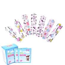 100pcs/lot Children Hemostasis Adhesive Bandages Waterproof Breathable Cartoon Band Aid First Aid Emergency Kit