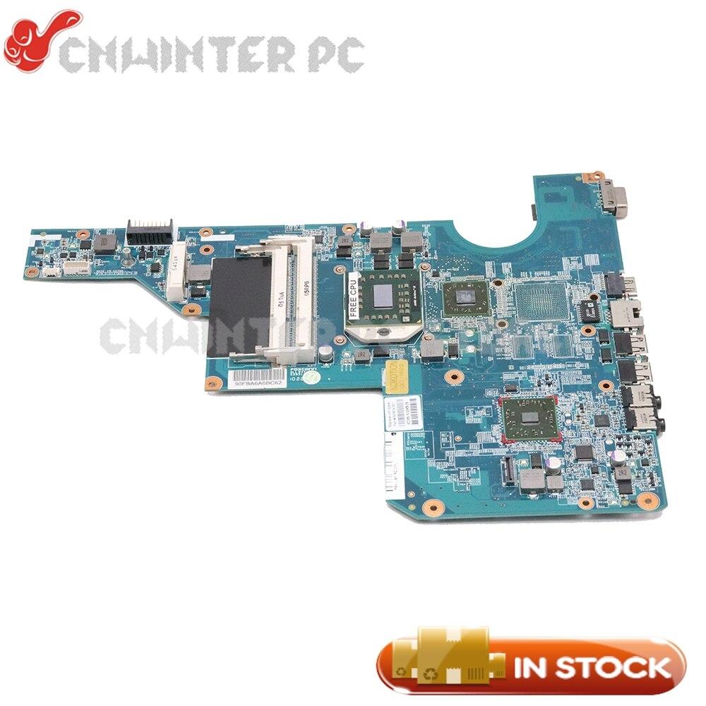 NOKOTION 597674-001 Tablero Principal para HP CQ62 G62 placa base de computadora portátil hembra S1 DDR3 gratis CPU