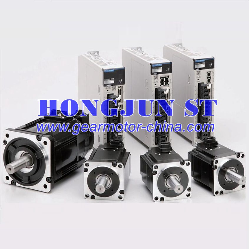 New and original Yaskawa 200W servo motor with drive SGM7J-02A7C6S +SGD7S-1R6A00B202 with 3 meter cable set and connectors