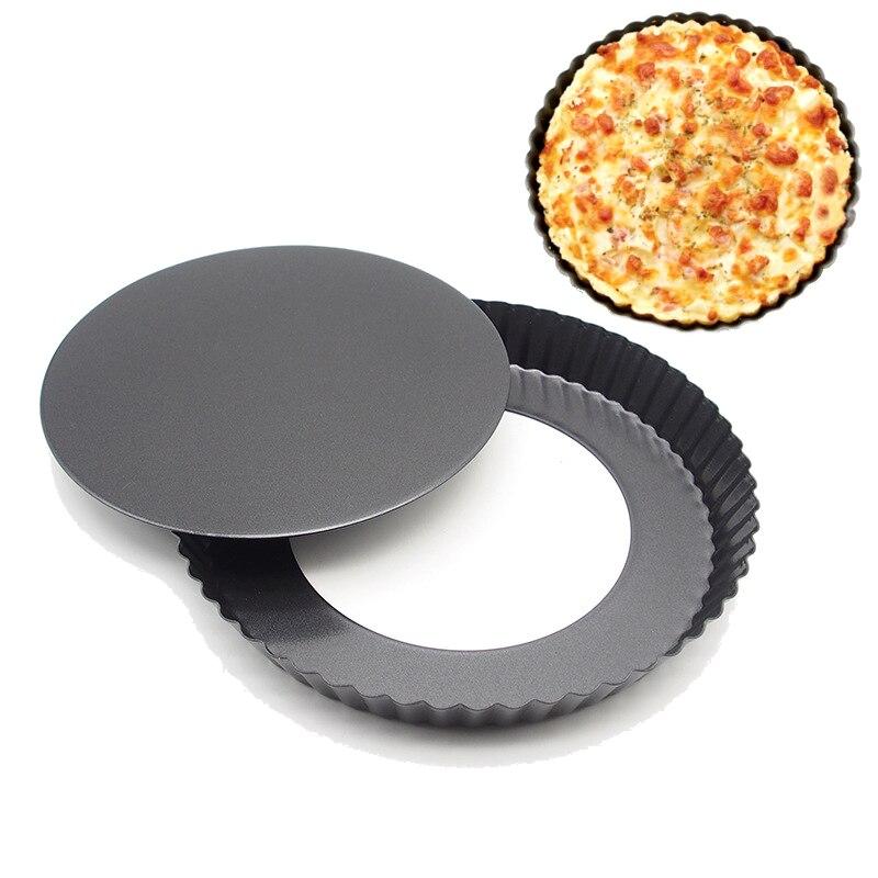 9 inch Carbon Steel Nonstick Kitchenware Baking Pan Round Pizza Pan Pizza Tray Bakeware Baking Mold Kitchen Utensils
