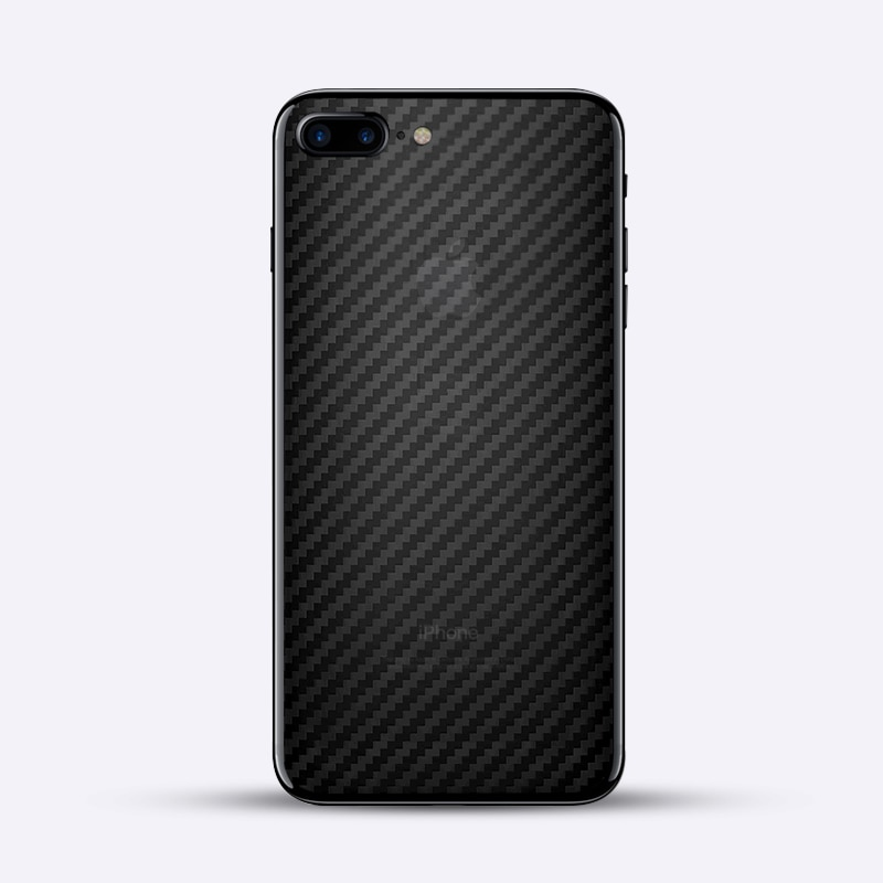 For iPhone7 6 6s 7 plus iPhone se 5s Rear cover Protector 3D Carbon Fiber Back Cover Screen Protecti