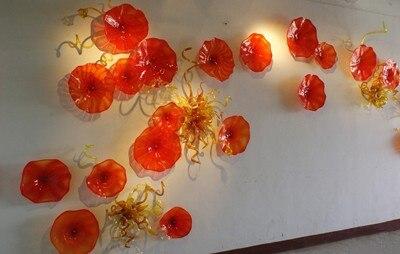 Freie Luft Verschiffen Luxus Hotel Deco Mundgeblasenem Glas Günstige Wandplatten Kunst