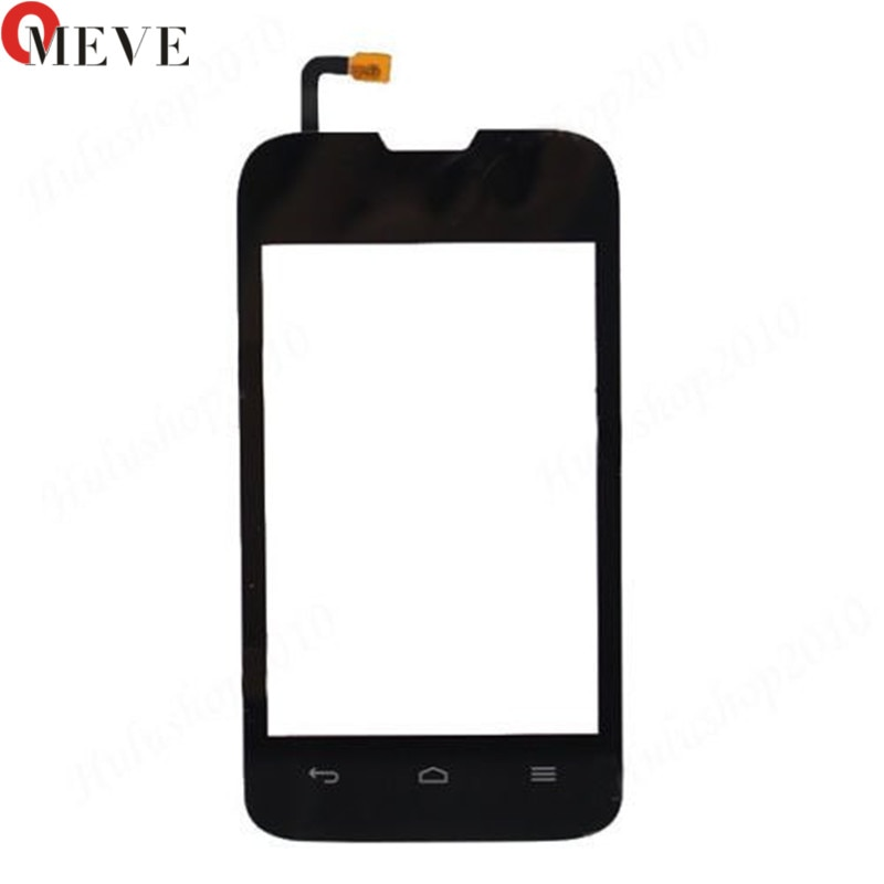 3,5 Y210 pantalla táctil para Huawei Ascend Y210D Y210 pantalla táctil digitalizador Sensor de cristal frontal Panel de lente negro teléfono partes