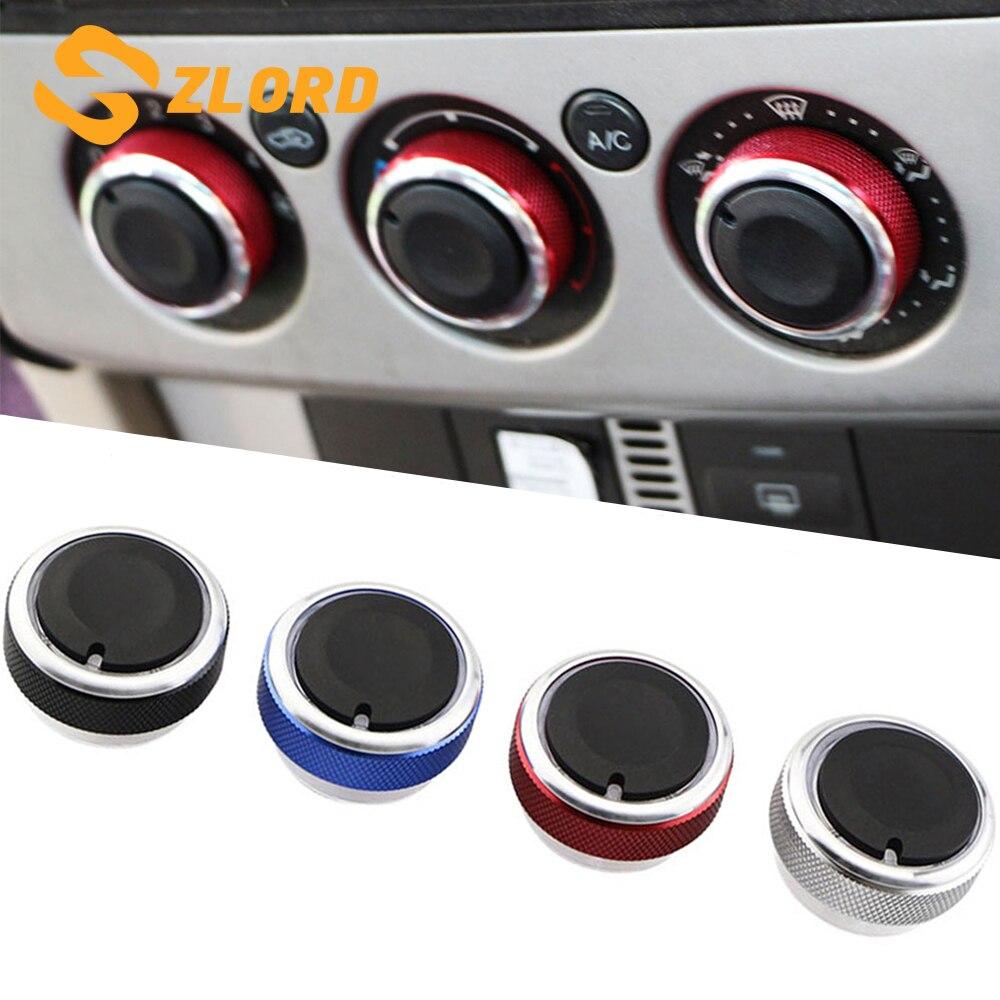 Peças Do Carro para Ford Focus 2 Zlord 3 MK2 MK3 Mondeo AC Knob Car Ar Condicionado Botão Interruptor de Controle de Calor 3 pçs/set