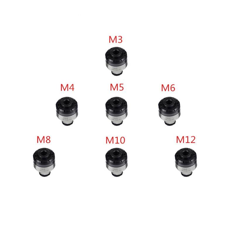 7 шт. патроны для защиты крутящего момента M3/M4/M5/M6/M8/M10/M12 для самоблокирующихся пневматических нарезных станков