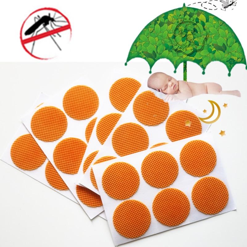 180 parches 2017 verano popular largo eficaz bebé seguro repelente de mosquitos parches deet gratis anti mosquito pegatina