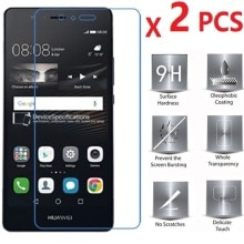 2 PCS For Huawei P9 Lite Tempered Glass Screen Protector For P9 Lite  2.5D 0.26mm 9H  Anti-scratch P