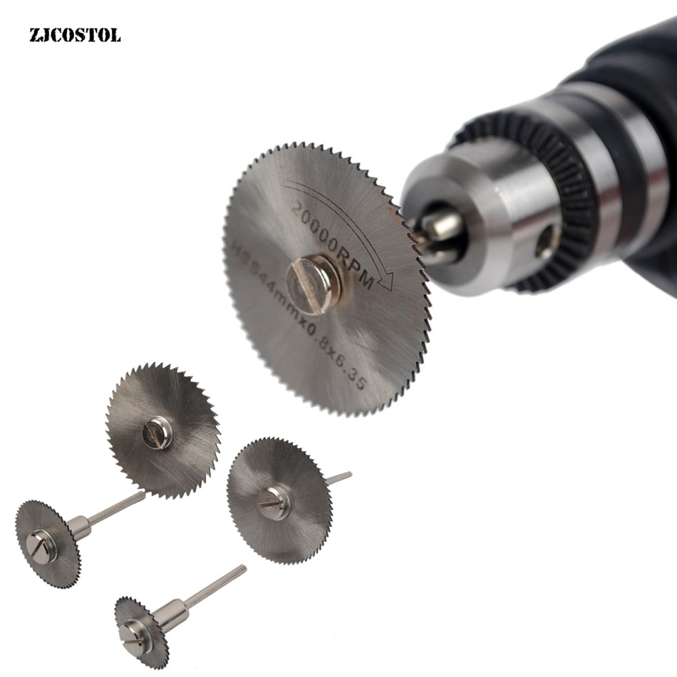 Disco da taglio per metalli in acciaio ad alta velocità, lama rotante, mandrino per dischi ruota per utensili, sega da taglio per legno per troncatura