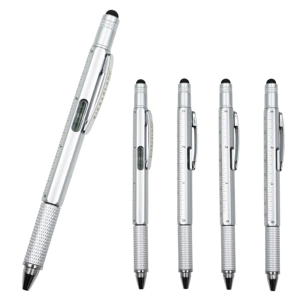10 шт./компл. многофункциональная отвертка, шариковая ручка, ручка-суппорт, пластиковый инструмент, ручка, инструмент для сенсорного управле...