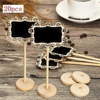 20 pcs free shipping mini blackboard with stand wedding decoration home decoration table decoration restaurant table number