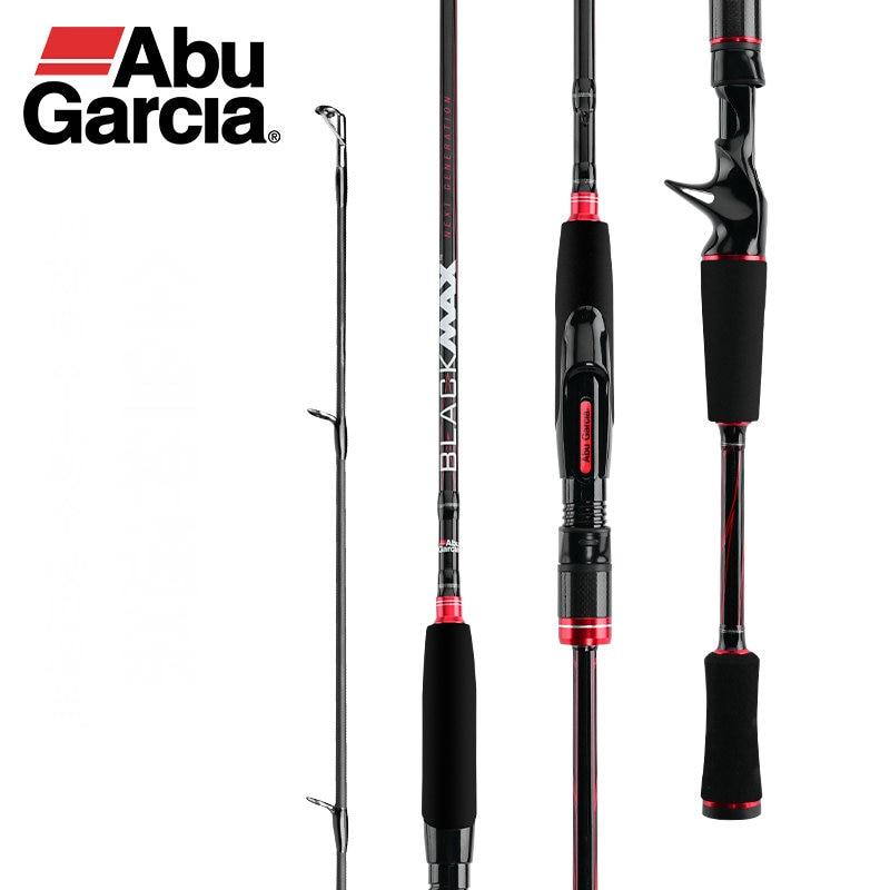Оригинальный Abu Garcia новый черный Макс BMAX Приманка Удочка 1,98 m 2,13 m 2,44 m ML M MH Мощность карбоновая спиннинговая удочка