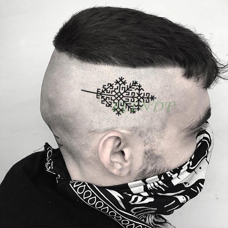 Tatuagem temporária à prova dwaterproof água austras koks letónia símbolo tatto adesivos flash tatoo tatuagens falsas para menina