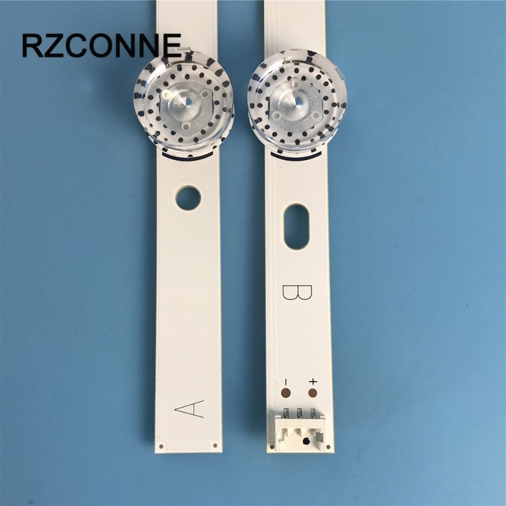 2 uds tira de luz LED para LG 40 DRT4.0 REV0 7 + B Tipo SVL400 6916L-0884A 6916L-0885A 40LF630V 40LX560H 40LH5300 40LH5700 40LF570V