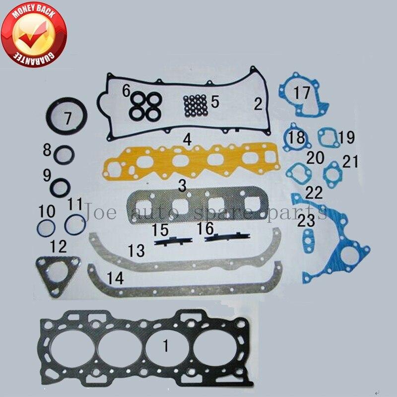 HC HD HCE HDC motor de juego completo de juntas para Daihatsu Feroza/farsa/aplausos/Fourtrak/Taruna 1.3L 1.6L 88-00 50120700 de 430054P