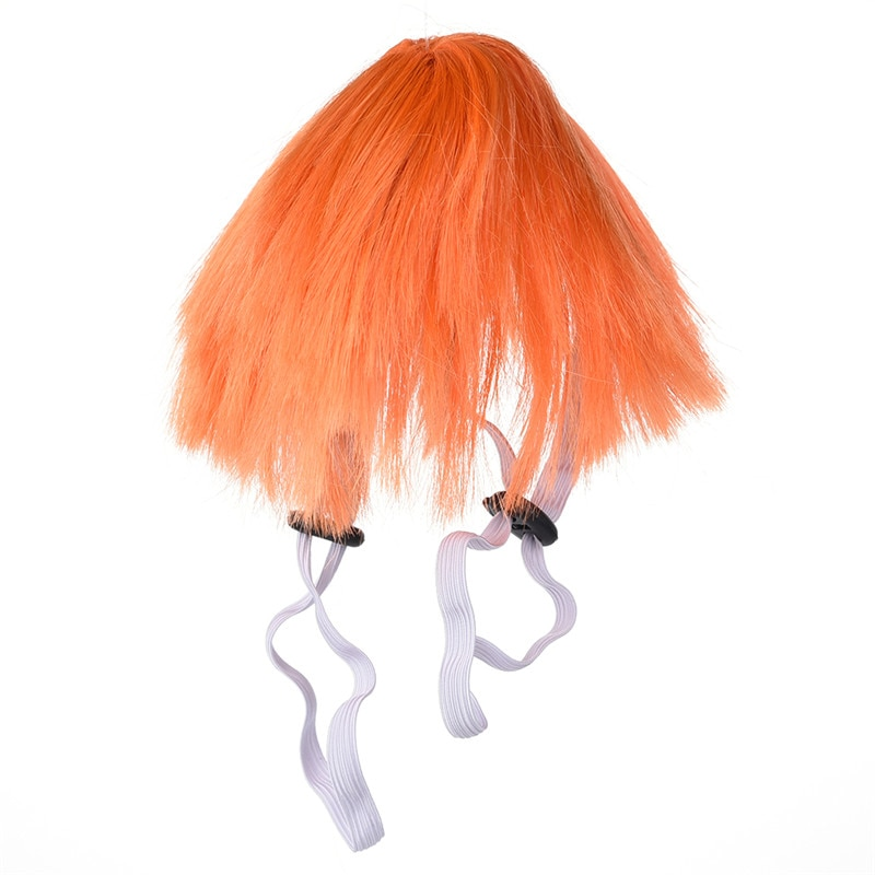 Pet Wig Costume Headwear for Halloween Festival Party Dress up Fancy Dog Wig Pet Accessories