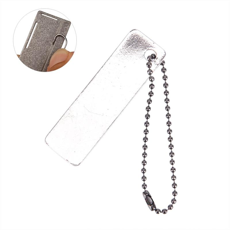 1 шт алмазное рыболовный крючок отточить Fishook заточка коробка для рыболовной