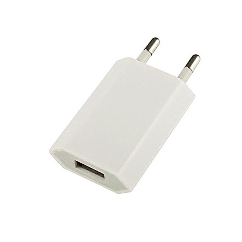 Blanco EU enchufe USB adaptador/cargador de pared de carga del teléfono móvil herramientas para iPhone 6 6S 5 teléfono Samsung