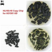 High Quality 10pcs/lot KD 4C 4D 46 and 48 Copy Clone Chip Transponder Special for KEYDIY KD-X2 KD X2 Key Programmer Cloner