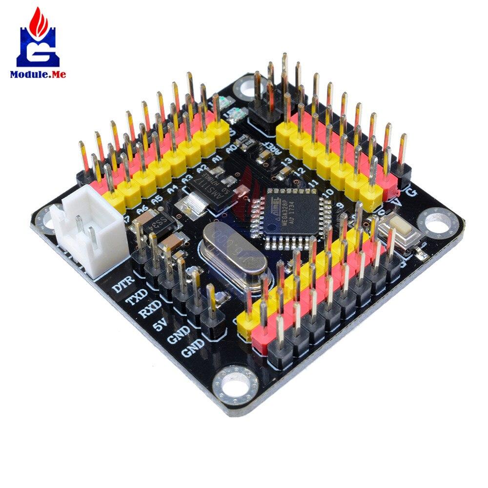 DM Strong серия Atmega328 модуль контроллера Pro Mini 5 в 16 МГц плата 5 В для Arduino Atmega328p микроконтроллер Diy Kit I/O Pins