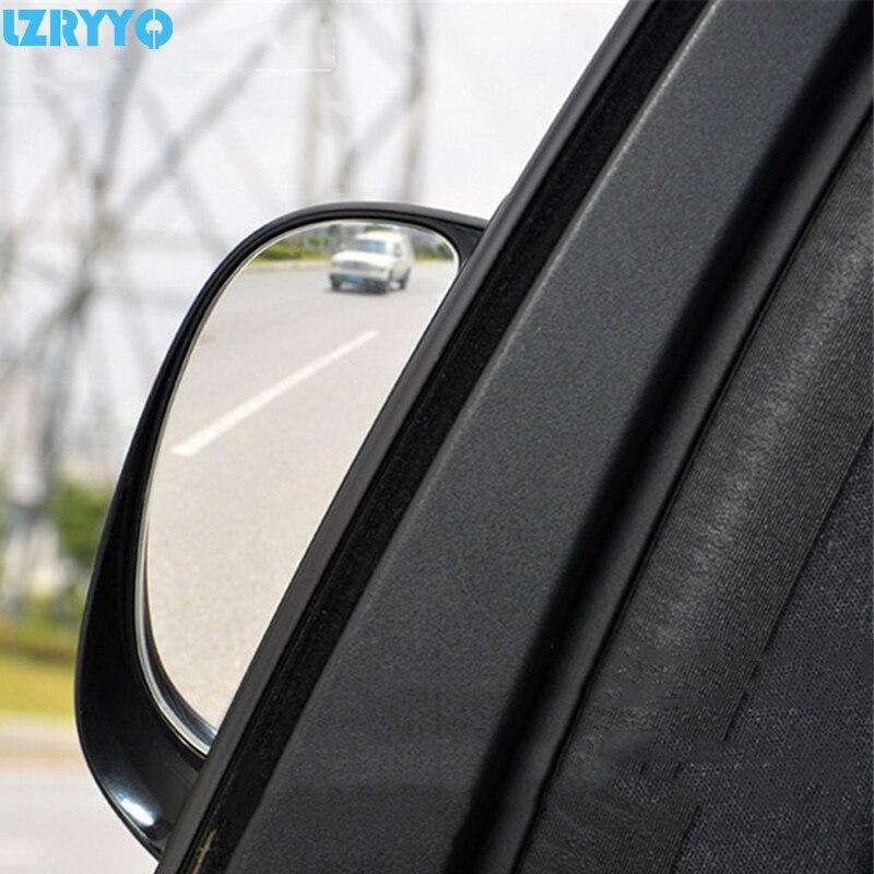 2 uds. De vista trasera de dos filas para coche, mejora la seguridad Visual, ángulo ciego, espejos, carcasa para pasajero para Audi Toyato Mazda Nissian