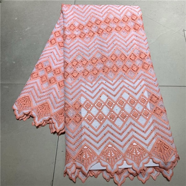 Tela de encaje soluble en agua para boda/Fiesta de clase alta encaje bonito guipur para vestido de costura ZQW55 (5 yardas/lote)