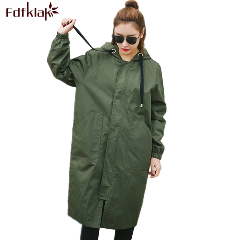 Fdfklak, ropa holgada de talla grande Maternidad, gabardina larga para mujer, chaqueta para mujeres embarazadas, ropa de embarazo, abrigo femenino