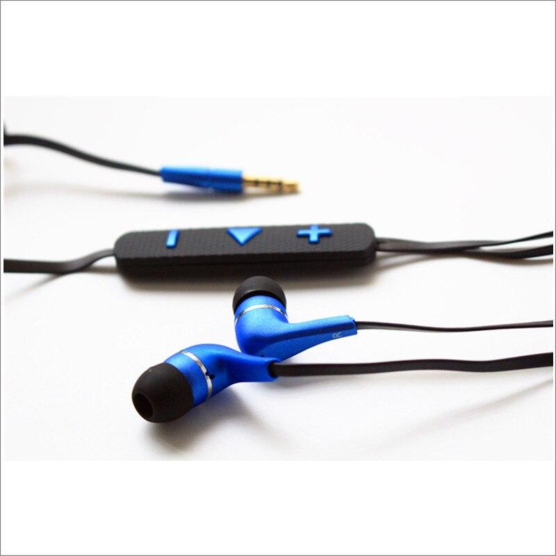 سماعة أذن داخلية عالية الجودة 2017 من Linhuipad تُباع بالجملة مع ميكروفون وجهاز تحكم في مستوى الصوت 500 قطعة/وحدة