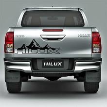 Custom Car Sticker Fit For Toyota Hilux Revo Vigo Hilux Mountain Racing Door Tailgate Stripe Graphic Vinyl  Car Decals