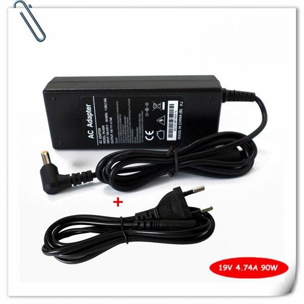 Адаптер переменного тока для ноутбука Acer Aspire 5580, 5920, 69200, 5930, 6530, 5220, 4820TG, шнур питания 19 в 4,74a, 90 Вт