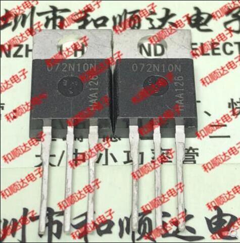10PCS 072N10N IPP072N10N TO220