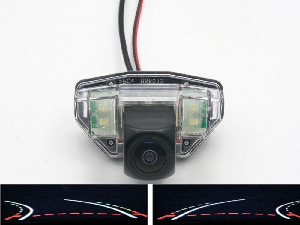 Cámara de ojo de pez con vista trasera de coche de 1080P, cámara de marcha atrás para estacionamiento para Honda CRV 2007 -2010 Nuevo (hatchback) 2008-2011