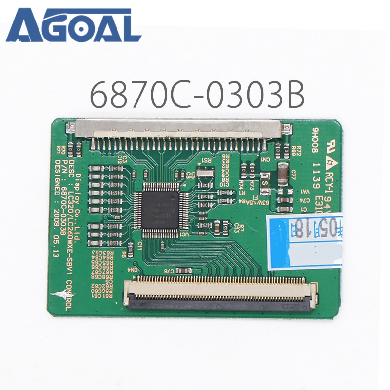 Placa lógica LC32HS62B LC32FS82 6870C-0303B para Panel LC320WXE para placa controladora de TV LED, t-con conversor de Control