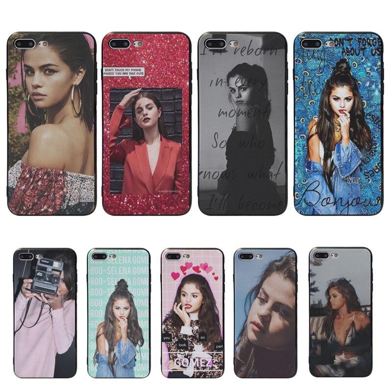 MaiYaCa Selena Gomez Selena Marie Gomez de la cubierta del TPU del caso para iphone X XS X XR XS Max 8plus 7 7plus 6s plus 6 6plus