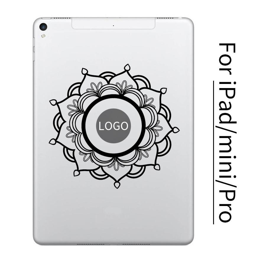 "Mandala Flor pura Tablet Decal Adesivo Laptop para Apple 9.7 ""iPad/7.9"" Mini iPad/10.5"" 11 ""12.9"" iPad Pro Tatto Adesivo de Pele"