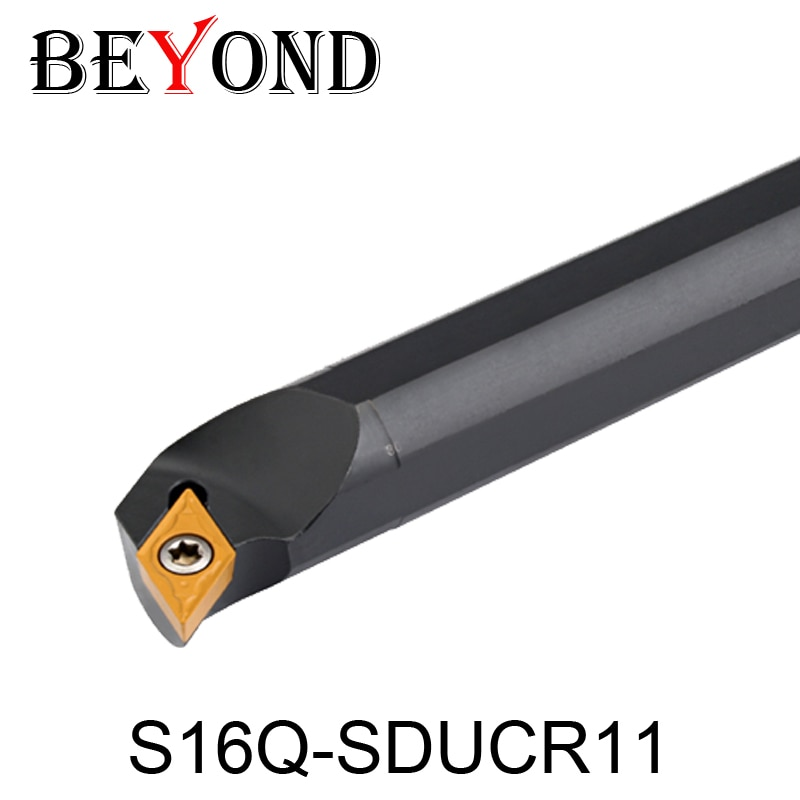 BEYOND S16Q-SDUCR11, S16Q-SDUCL11 SDUCR SDUCL, portaherramientas de torneado interno, CNC, herramientas de torno, cortador, barra de taladro DCMT11T304