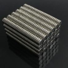 100 200pcs Bulk Small Round NdFeB Neodymium Disc Magnets Dia 4mm X 1mm N35 Super Powerful Strong Rare Earth Car Styling