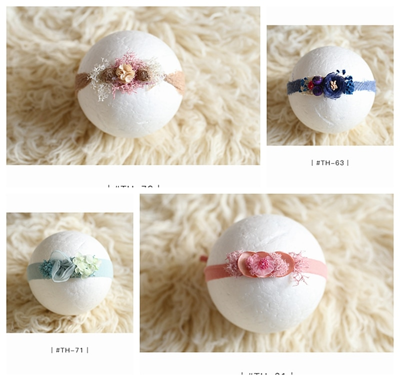 newborn headband for girl baby headband hair accessories bebe newbprn photography props