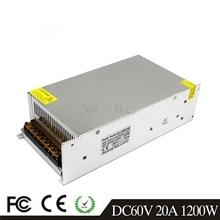 DC 60V 12A 720W 17A 1000W 20A 1200W LED Licht Gürtel Fahrer Schaltnetzteil 110V 220V AC Transformator Überwachung CCTV CNC