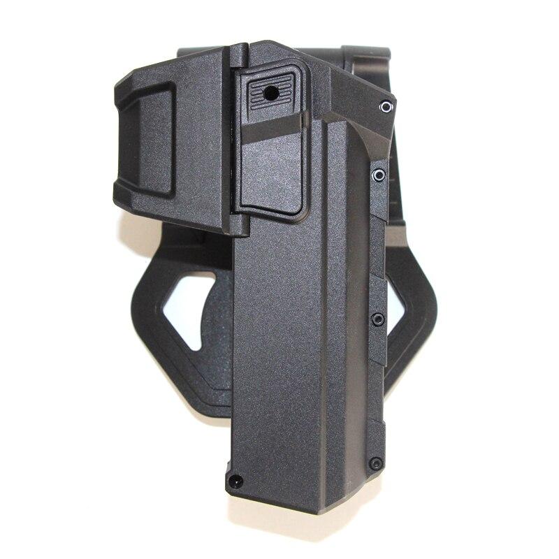 Pistolera móvil táctica Glock 17 G18 con linterna o pistola de cintura Glock montada en láser accesorios de caza