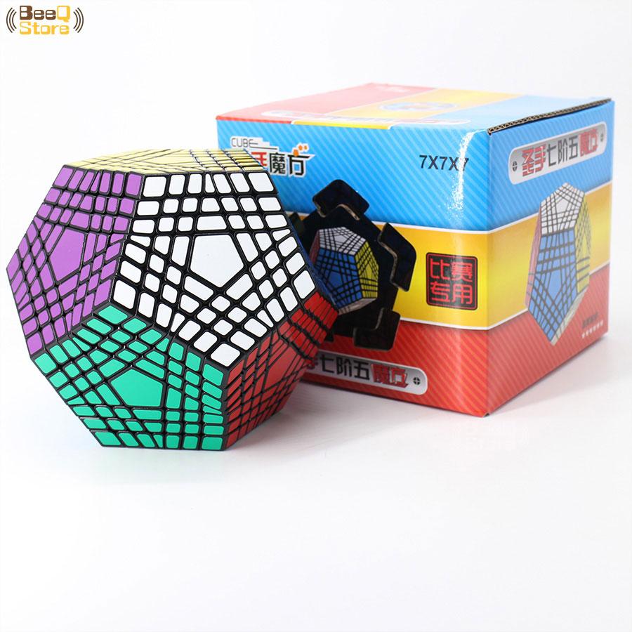 Магический куб Shengshou Wumofang 7x7x7, профессиональный куб додекаэдра, обучающие игрушки