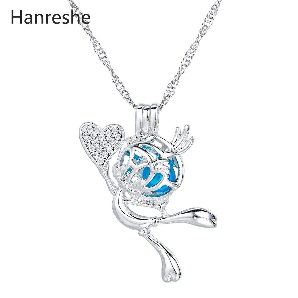 Collar de pájaro de Tweety, colgante de perla, joyería Bohemia, regalo de Anime para mujeres/niñas, collar de gargantilla de cadena bonito de acero inoxidable
