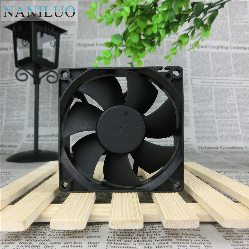 NANILUO 8025 80mm x 80mm x 25mm DL08025R12U Hydraulic Bearing PWM Cooler Cooling Fan 12V 0.50A 4Wire 4Pin Connector