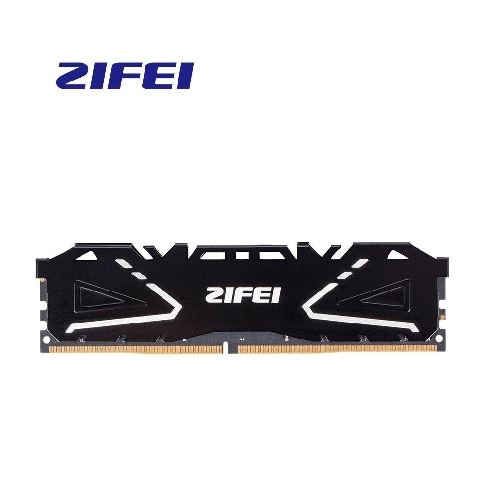 ZIFEI ram DDR4 8GB 16GB 32GB 2133MHz 2400MHz 2666MHz 3200MHz 288Pin بالوعة حرارة عالية السرعة UDIMM ذاكرة عشوائيّة للحاسوب المكتبي ألعاب