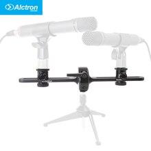 Alctron MAS006 doppel mikrofonständer stereoaufnahme dual mikrofonständer