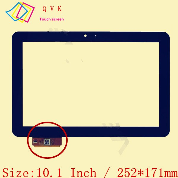 Negro para prestigio multipad 4 Ultimate 10,1 3G PMP7100D3G_quad DUO FPDC-0085A-1 A11020A0089 ZX-1351 A1WAN06 pantalla táctil