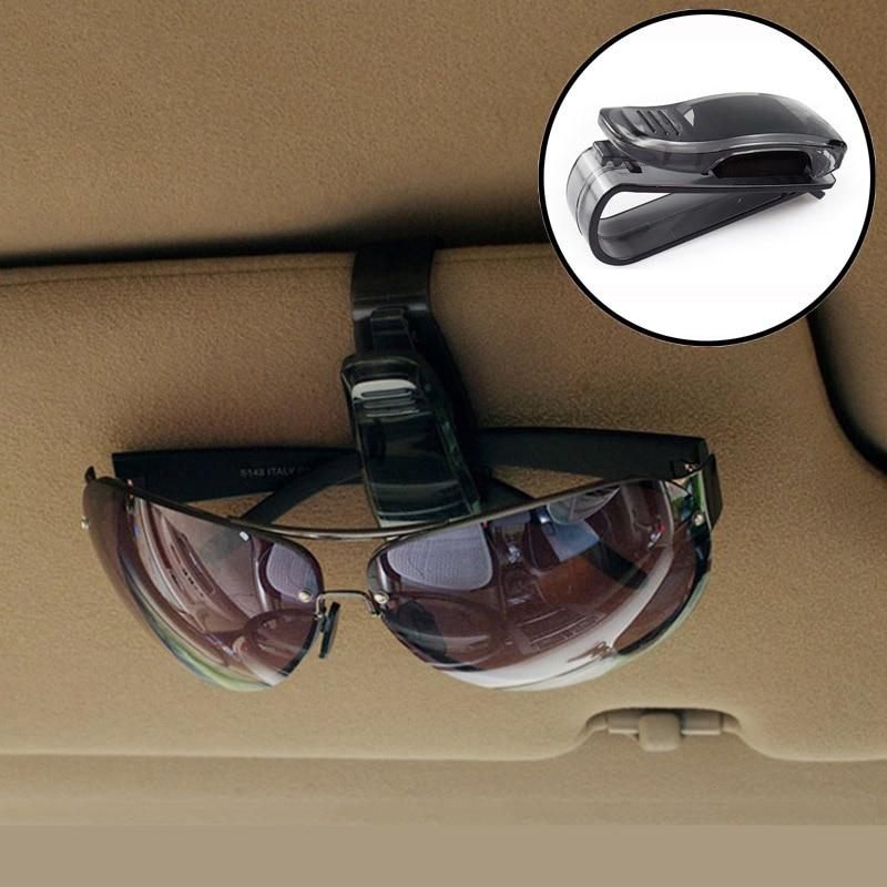 1 ud. Auto Carpeta de gafas de coche clip de papel para Mercedes Alfa Romeo 159 Fiat 500 BMW E39 E46 E90 E60 E36 F30 F10 Mini Cooper