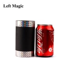 Accesorio para trucos de magia de Coke Can, vara mágica de seda, cola de apoyo para escenario de seda, accesorios de magia para trucos de magia mentalismo, truco