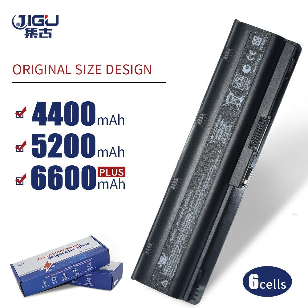 JIGU 6 celdas batería para HP Pavilion DV3 DM4 Dv7-1400 Dv7-1200 G4 G6 G7 para Compaq Presario CQ42 CQ32 G42 MU06 593553-001