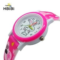2019 new listing cute cartoon rabbit children watch kids girls silicone straps child quartz watches boys clock montre enfant