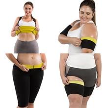 Women's Shapers Neoprene new Body Shaper Pants Waist Trainer Slimming Shirts Sauna Leg Sleeves Sweating Weight Loss Arms Fitness